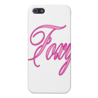 Foxy Pink Airbrush Cover For iPhone 5