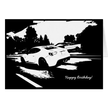FR-S Rolling Shot Birthday Card