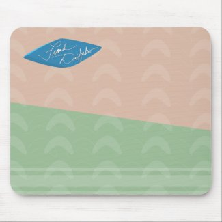 Frank DiSalvo - Blue Logo UL Mousepad