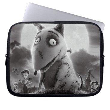 Frankenweenie Movie Poster Laptop Sleeve