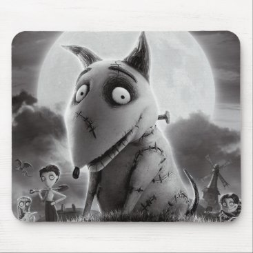 Frankenweenie Movie Poster Mouse Pad
