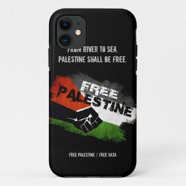 Free Palestine iPhone 5 Case