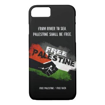 Free Palestine iPhone 7 case