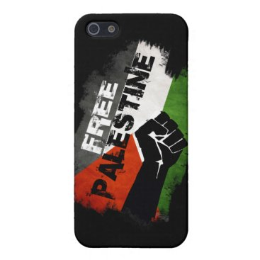Free Palestine Case For iPhone SE/5/5s