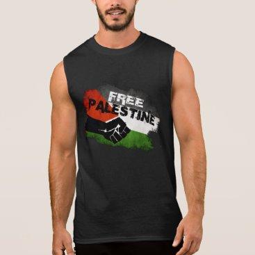Free Palestine Sleeveless Shirt