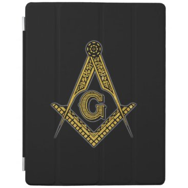 Freemason (Black & Gold) iPad Smart Cover
