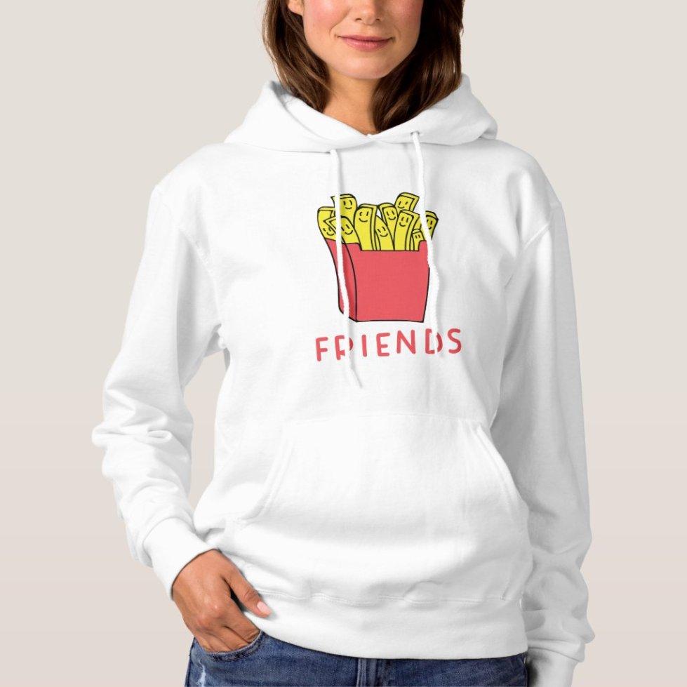 French Fries Best Friend Hoodie