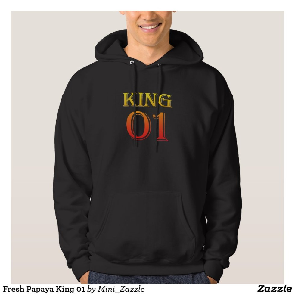 Fresh Papaya King 01 Hoodie