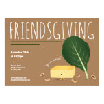Friendsgiving Cornbread Collard Green Beans Invitation