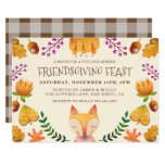 Friendsgiving Feast Thanksgiving Party Invitation