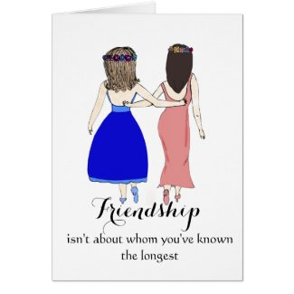 Friendship isn't about Whom You've Known Longest