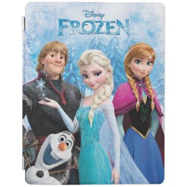 Frozen   Anna, Elsa, Kristoff and Olaf iPad Smart Cover
