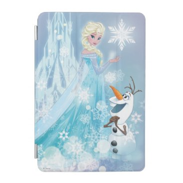 Frozen | Elsa and Olaf - Icy Glow iPad Mini Cover