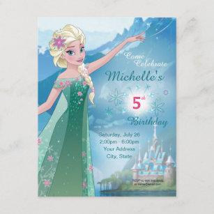 frozen birthday invitations zazzle