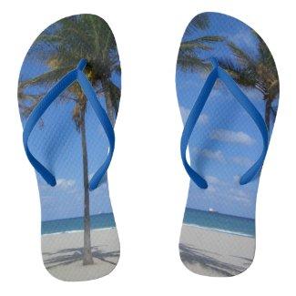 Ft Lauderdale Beach Custom Flip Flops
