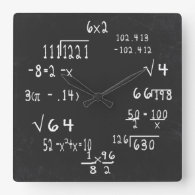 Fun Geek Math Clock