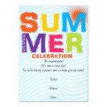 Fun Summer Solstice Invitation