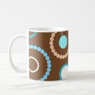 Funky circles - Mug mug