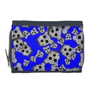 Funky Skull Bear Wallets