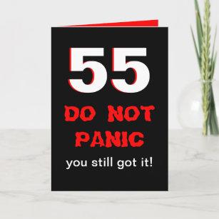 Funny 55th Birthday Cards Zazzle