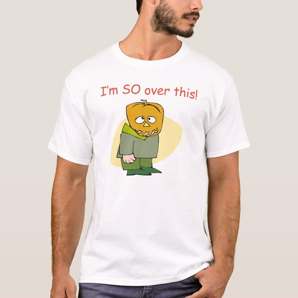 Funny Anti Halloween Tee Shirt
