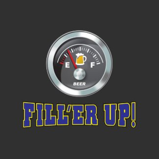 Funny - Beer Meter Fill'er Up shirt
