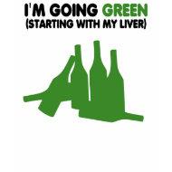 Funny beer slogan,green beer shirt