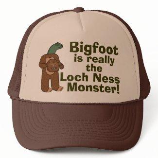 Funny Sasquatch Bigfoot Monster Design