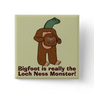 Funny Sasquatch Bigfoot Monster Humor