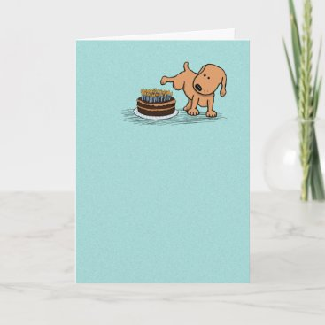 Funny birthday card: Years Whiz By Card