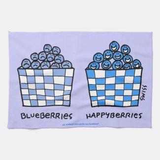 Blueberry Lover Kitchen Towel