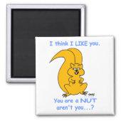 Funny Cartoon Squirrel Magnet magnet