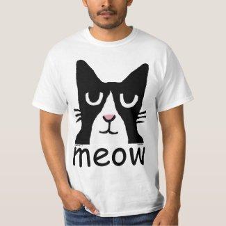 Funny Cat t-shirts, Panda Kitty, MEOW T-Shirt