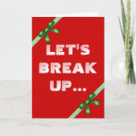 ❤️🤣 Funny Christmas Gingerbread Cookie Joke Holiday Card