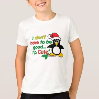 Funny Cute Christmas Penguin T-Shirt