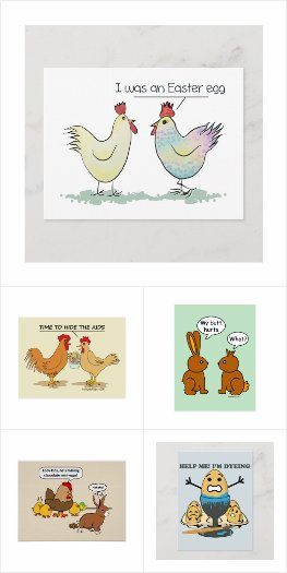 Funny Easter Gift Products