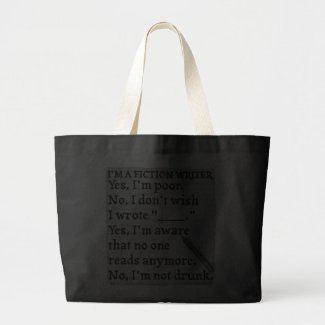 Funny Writers Gift Bag on Zazzle