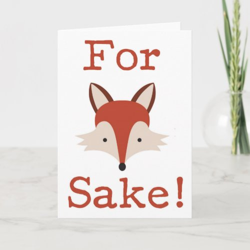 Funny For Sake - Birthday Greeting Card