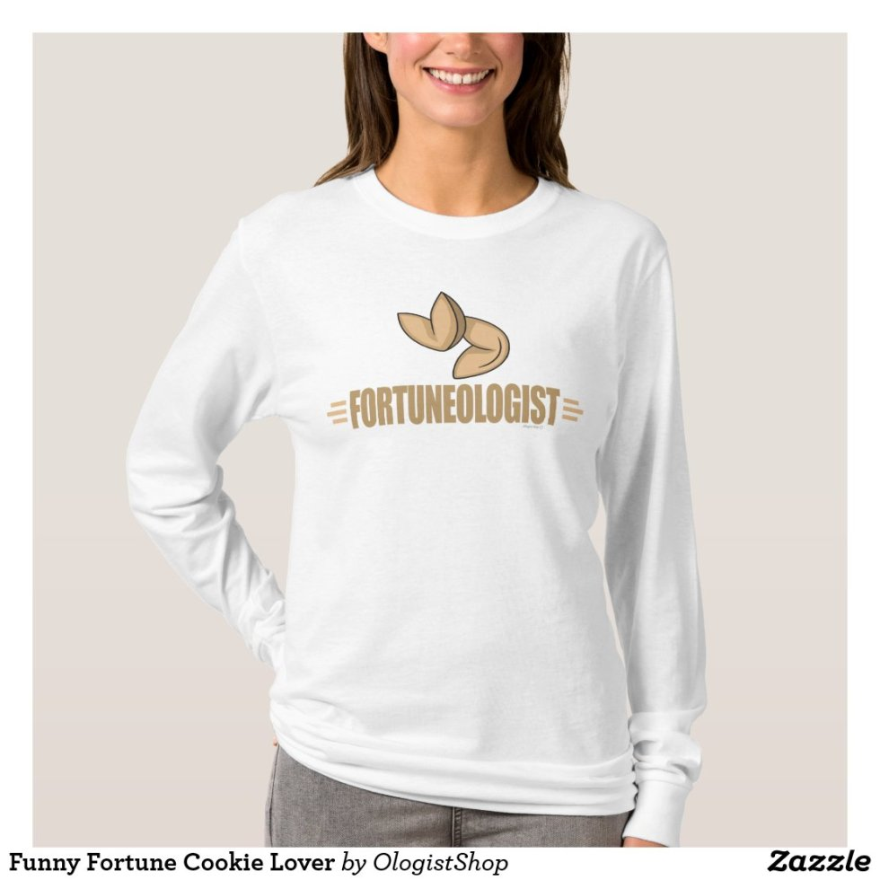 Funny Fortune Cookie Lover T-Shirt