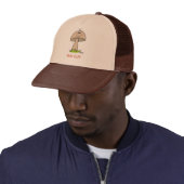 Funny Goofy Mushroom FUN GUY Hat 4 Dad Or Husband hat