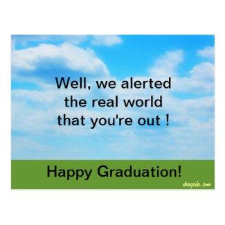 Funny Graduation Postcard