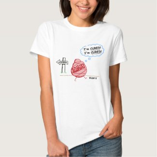 Funny Faith Healing Tshirt for Athiests