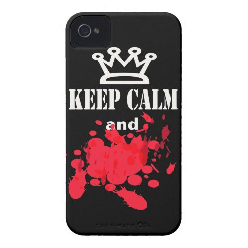 Funny Keep Calm iphone 4 cases casemate_case