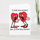 Funny love holiday card