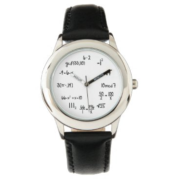 Funny Math Equation Watches