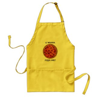 Funny Pizza Apron For Italian-Americans