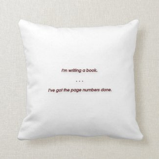 Funny Quote - I'm writing a book. I've got the …