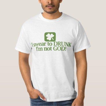 Funny St Patricks Day Drinking Team T-Shirt
