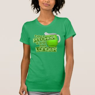 Funny St. Patrick's Day Green Beer Shirt