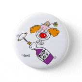 Funny Wine Button button